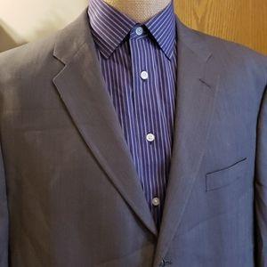 Calvin klein grey suit jacket blazer wool